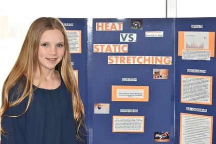 Heat vs static stretching
