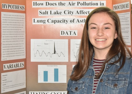 How does the air pollution in salt lake city