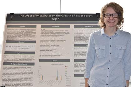 The effec of phosphates on the growth of halotolerant algae