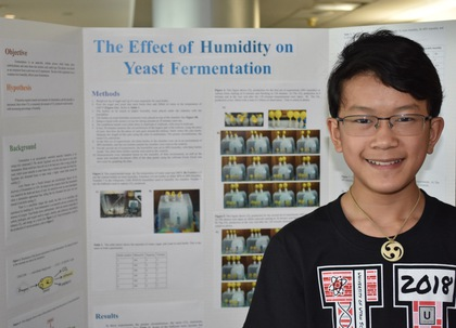 The effect of humidity on yeast fermentation