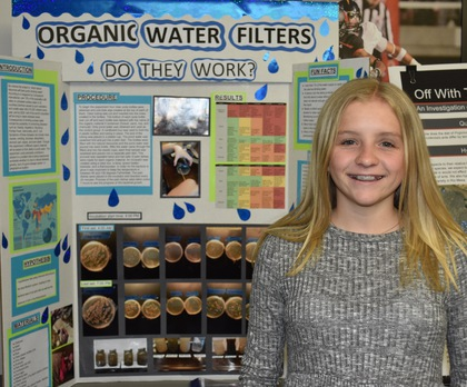 Organic water filters