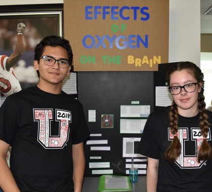 Effects of oxygen on the brain