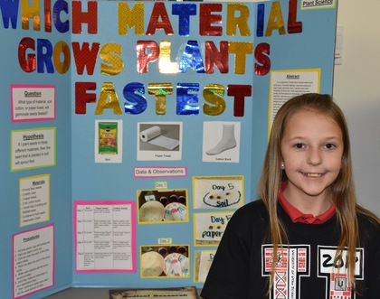 Which material grows plants fastest