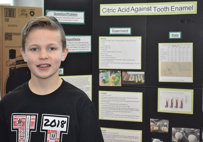 Citric acid against tooth enamel