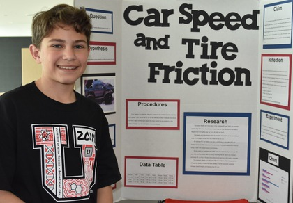 Car speed and tire friction