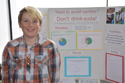 Want to avoid cavities  don't drink soda