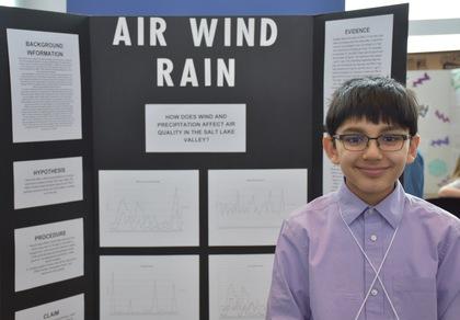 Air wind rain
