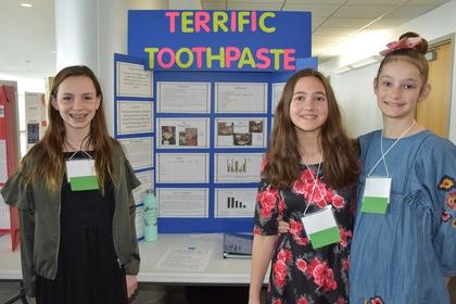Terrific toothpaste
