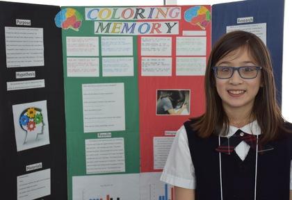 Coloring memory