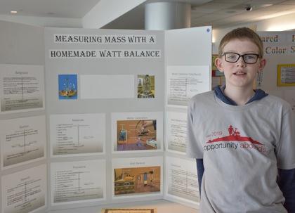 Measuring mass with a homemade watt balance