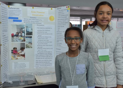 Solar powered desalination