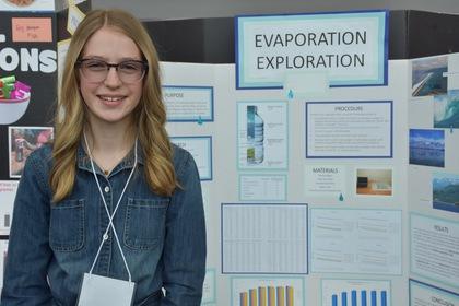Evaporation exploration