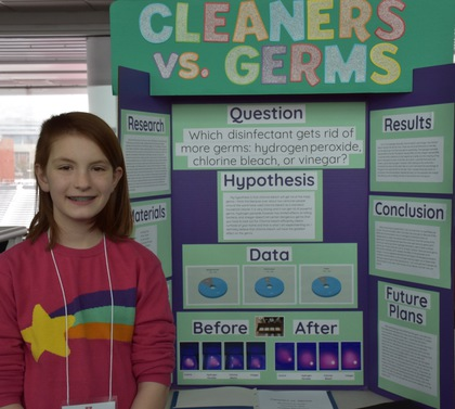 Cleaners vs germs