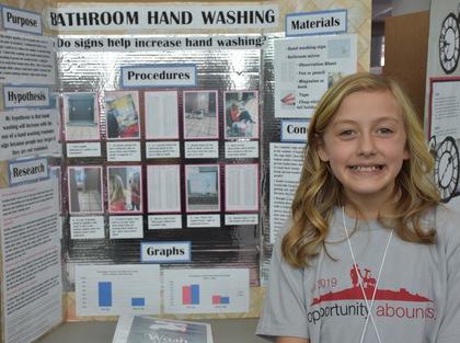 Bathroom hand washing