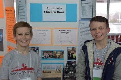 Automatic chicken door