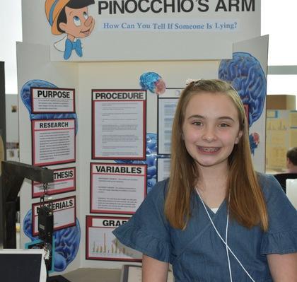 Pinocchio's arm