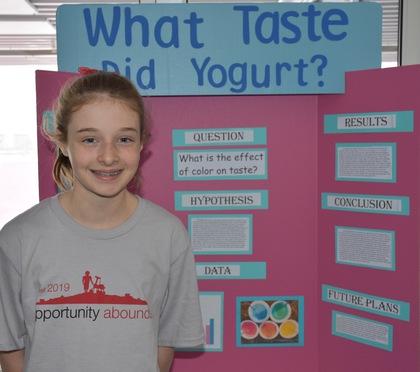 What taste did yogurt