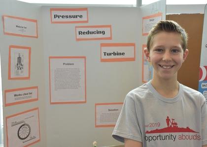 Pressure reducing turbine