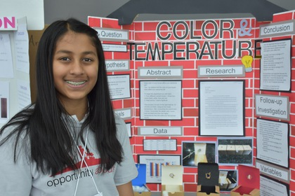 Color and temperature