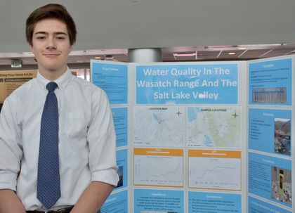 Water quality in the wasatch range and the salt lake valley