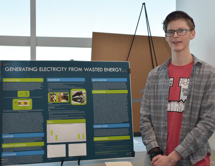 Generating electricity from wasted energy
