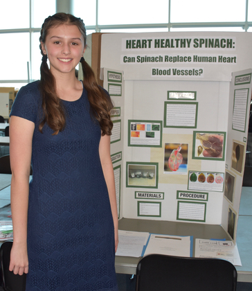 Heart healthy spinach