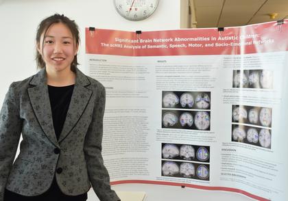 Significant brain network abnormalities in autistic children