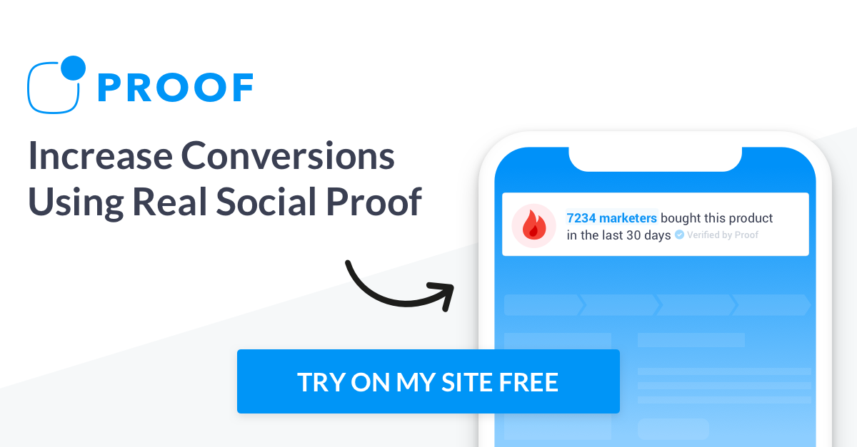 Proof | Increase Website Conversions With Social Proof