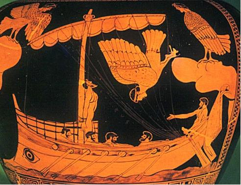 is odysseus a good leader based on books 9 and 10 in the odyssey