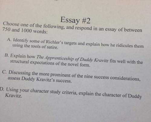 English essay need help?