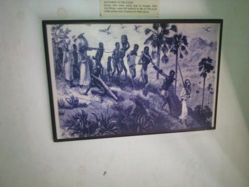 What is the long term affecton civilizations in africa from the slave trade? history question?