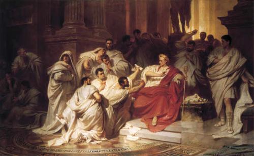 In Shakespeare's Julius Caesar, was it part of Brutus's plan to ...