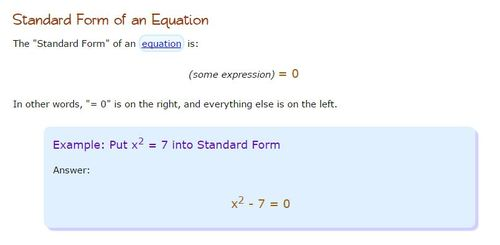 25y 10 Write Each Equation In Standard Form Identify A B And C
