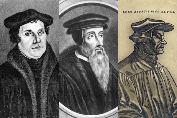compare and contrast martin luther and john calvin essay