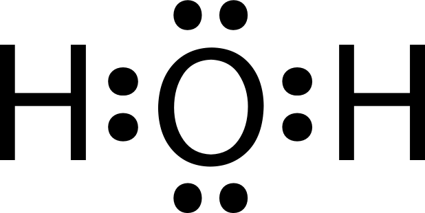 What Is The Lewis Symbol Of Water