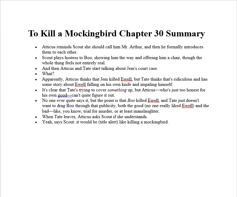 sparknotes to kill a mockingbird essay questions