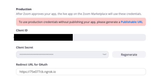Quickstart - OAuth - OAuth - Authorization - Documentation - Zoom