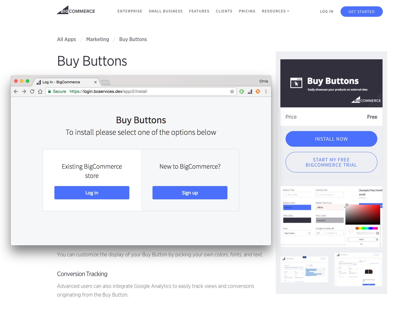 Building an App - Building Apps With BigCommerce - Getting