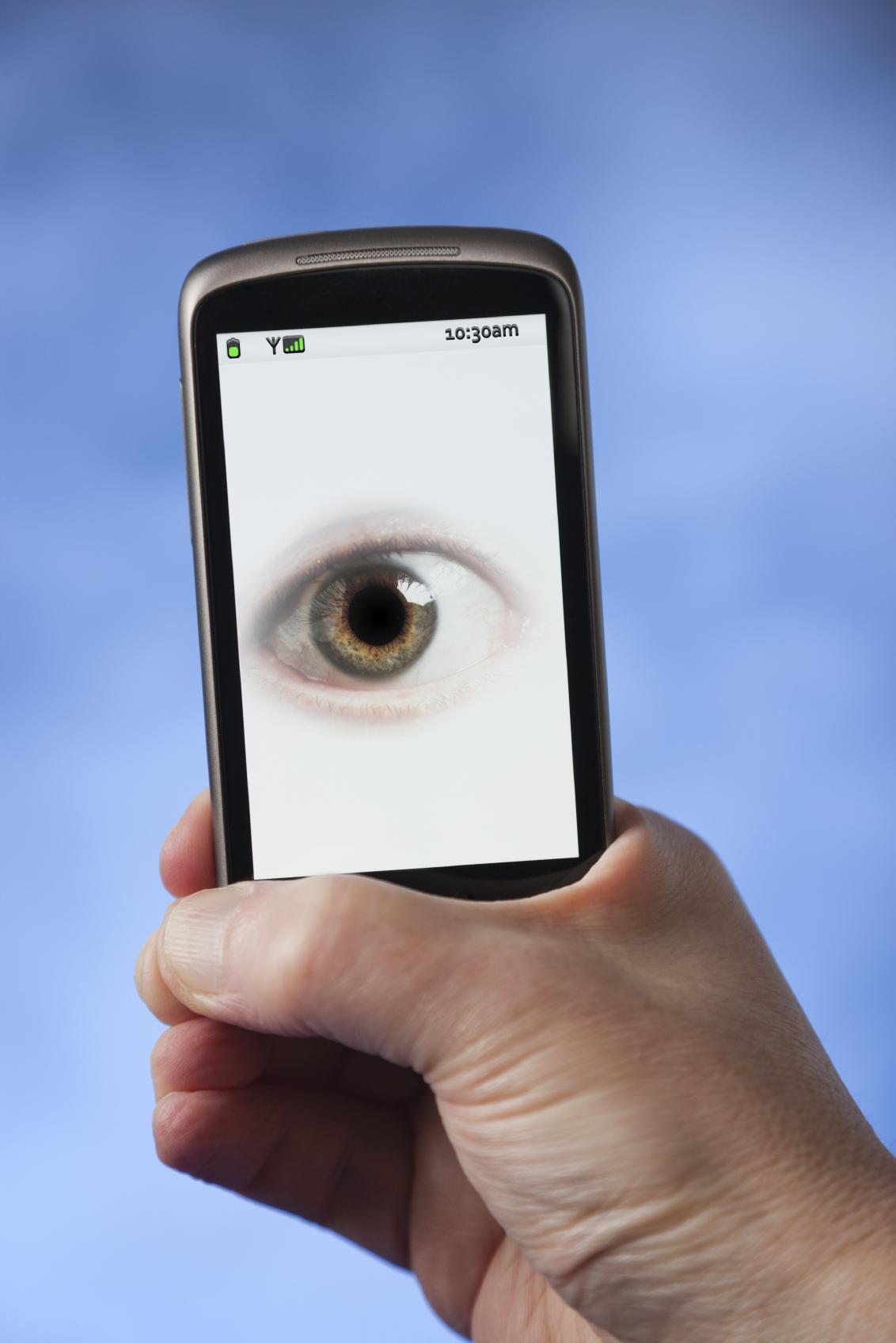 phone on surveillance