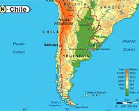 CHILE human & physical   by Camila Jiménez [Infographic]
