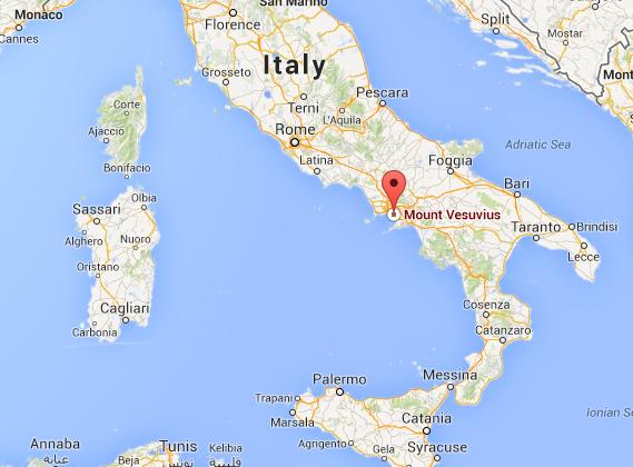 Mt Vesuvius Italy by Natasha Kirana Infographic