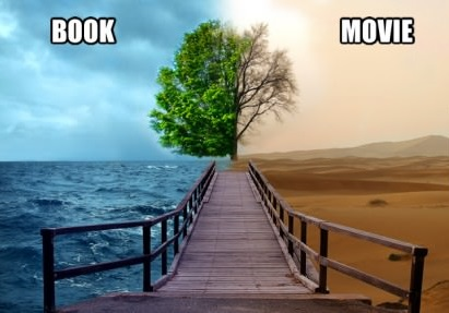The Difference Between Books and Movies - by Emily