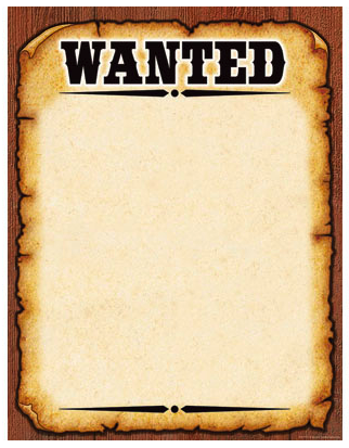 wanted signs