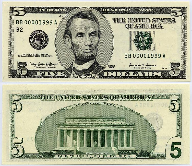 Security Features of US Dollars Kane Caldwell - by Kane Caldwell ...