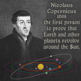 Nicolaus Copernicus - by gisselle garay [Infographic]