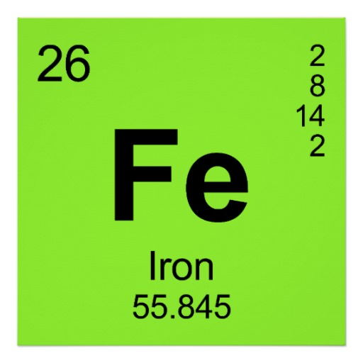 Iron periodic table napma iron symbol periodic table images of elements urtaz Images