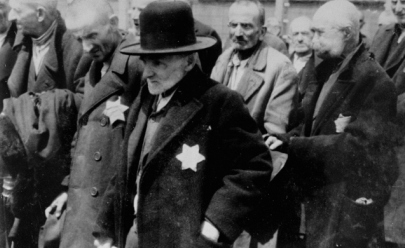 Αποτέλεσμα εικόνας για Jews with David's star Austria