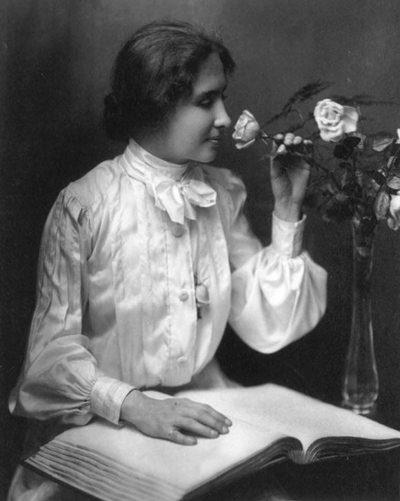 Helen Keller - by ZONG LEE [Infographic]