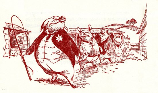 animal farm as an allegory of stalinism in association to russias relation to napoleon