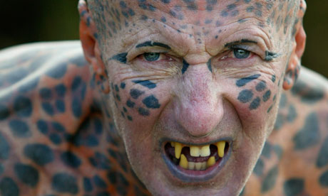 """Tom Leppard The """"leopard Man Of Skye"""" Is A Hermit And The World's ..."""